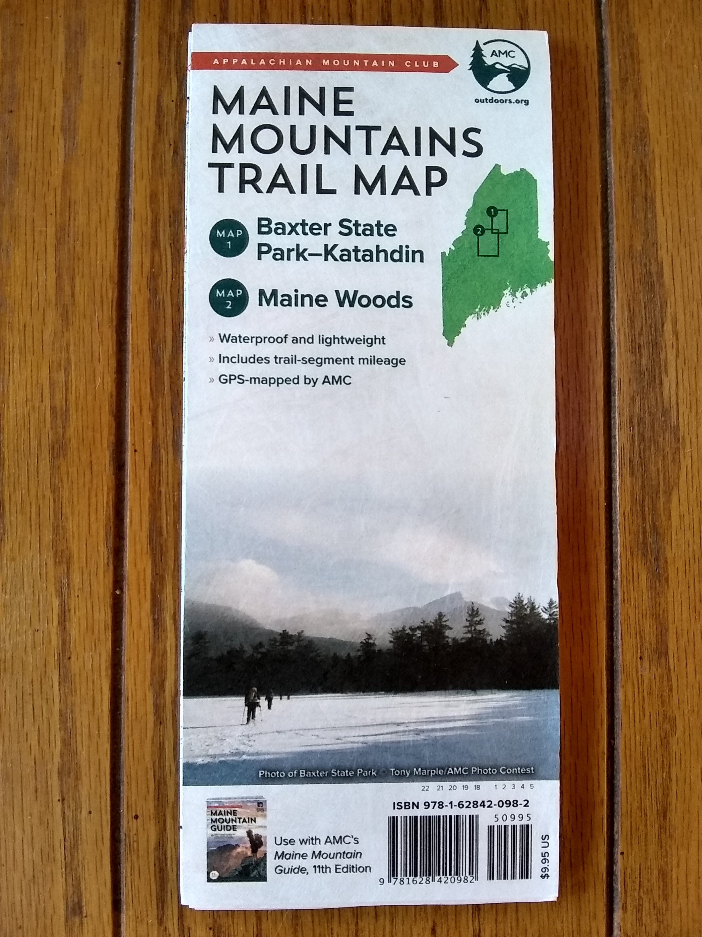100 Mile Wilderness  Mile Wilderness Map on